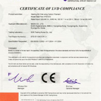 CE (HFS1010)